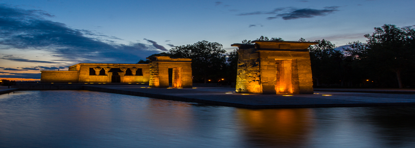 Temple of Debod (Aswan-Egypt 200 BC - Madrid-Spain 1968)